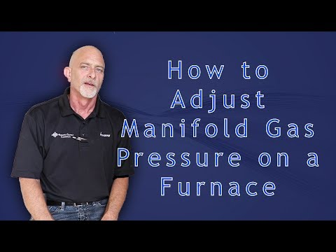 How to Adjust Manifold Gas Pressure on a Furnace