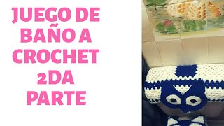 Juego De Bano Tejido A Crochet Paso A Paso