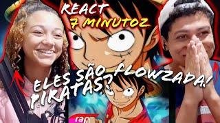 REACT - Rap do Luffy (One Piece) - REI DOS PIRATAS | NERD HITS | 7 Minutoz