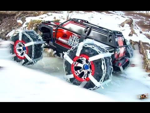 Rc Adventures Traxxas Summit 4x4 Truck In Custom Ice