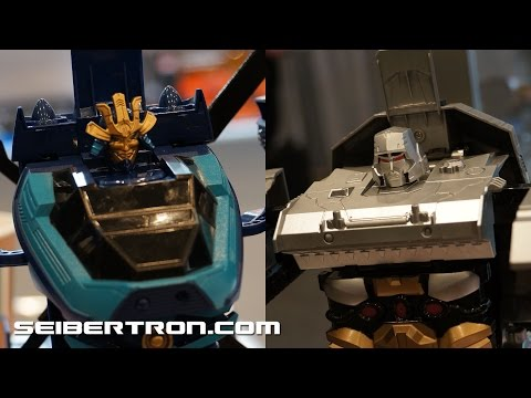 KO RC Combiner Wars Megatron Tank and Age of Extinction Drift Helicopter