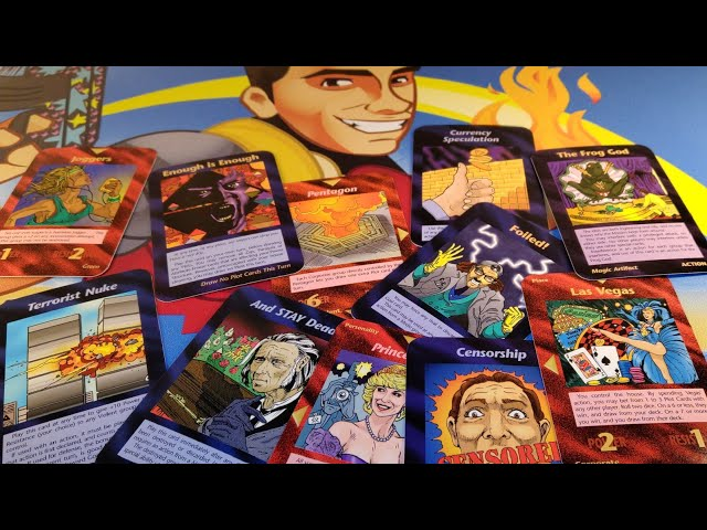 1994-1995 Illuminati Card Game Predictions Every The Event Our Future And Past - 500 HD Cards INWO