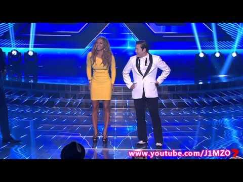 Mel B'S Gangnam Style Dance With PSY - The X Factor Australia 2012 [FULL]
