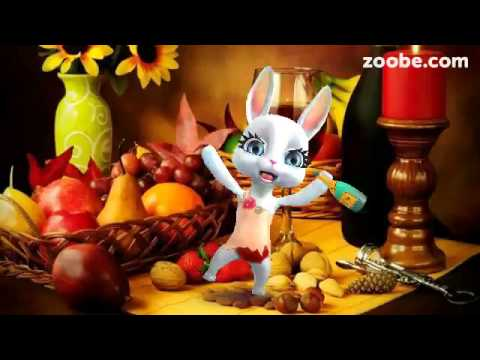 ZOOBE зайка Поздравление Подруге с 1 Апреля - Смотреть видео без ограничений