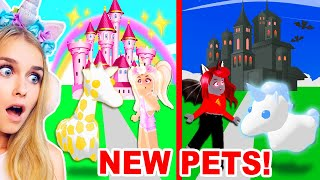 NEW Halloween *GHOST PETS* Coming To Adopt Me!? (Roblox)