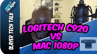 How to get the Logitech C920 working on your Mac  (Quicktime 1080p)