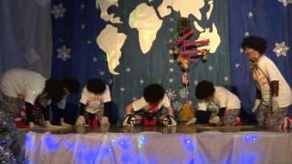 Новогодняя сказка в гимназии №3 Иркутска (26.12.2013). Африка.