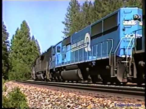 Classic Railroad Series 994 - SP Donner At The End, 1996.