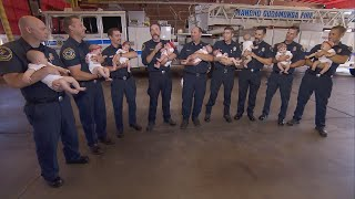 9 Babies Have Firefighter Dads Who Work for Same Department
