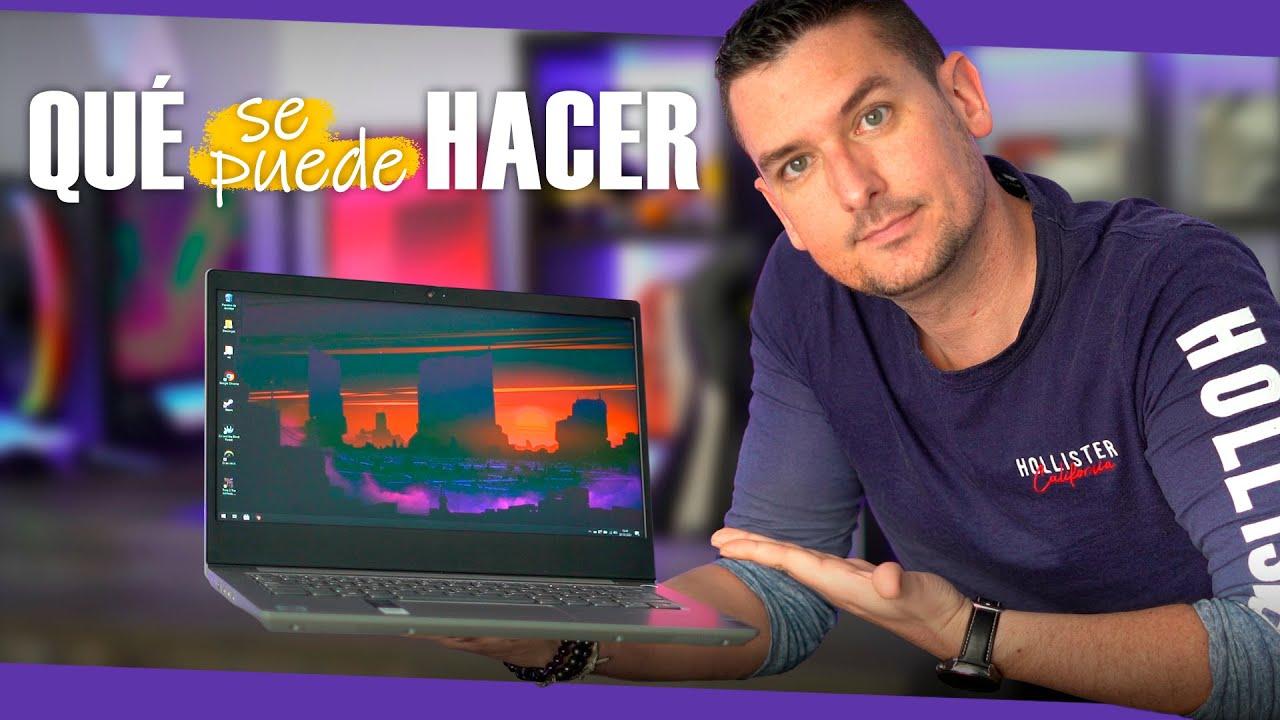 ¿Qué puedes y que NO puedes hacer con un portátil de menos de 500€?