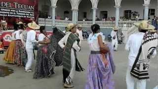 """El Baile de la Flor """"Profe Pascualito"""" Acatlán de Osorio, Puebla @GIA"""