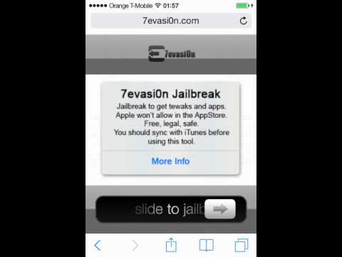 How to jailbreak iphone iOS 7.1.2 no computer