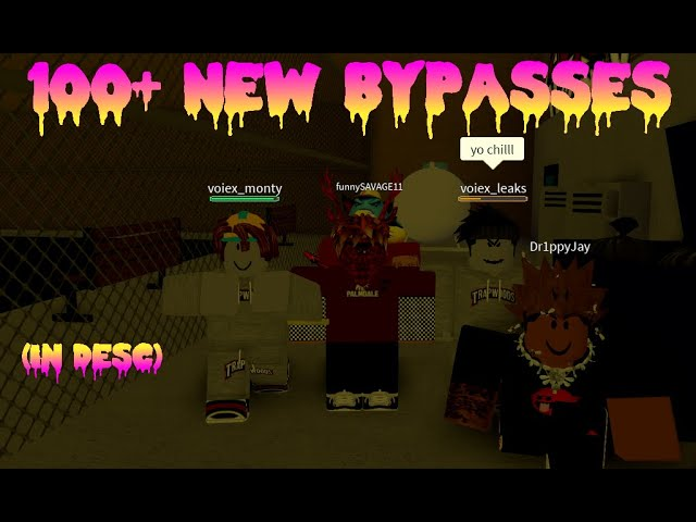 Bypassed Words Roblox 2019 Pastebin