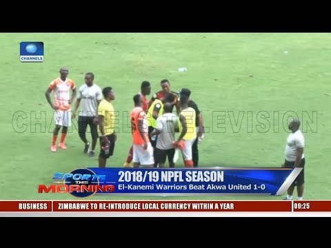 Akwa United's Coach Everton Laments Loss To El-Kanemi In NPFL Opener |Sports This Morning|