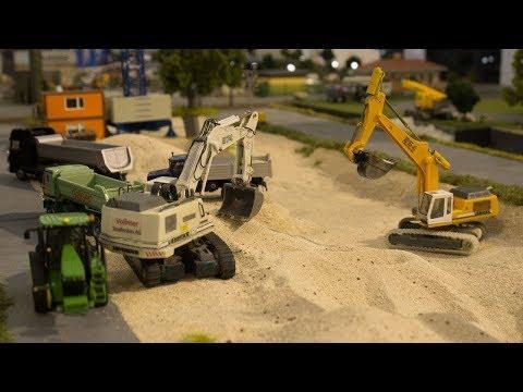 Baumaschinen auf der Faszination Modellbau Friedrichshafen | RC 1:87