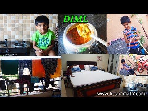 DIMLMorning RoutineBoring Sunday vlog :రాగి పెసరట్టు:By Lakshmi LakshmiVLogs