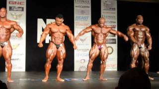 2016 IFBB NY PRO MEN's Bodybuilding Prejudging  First Callout