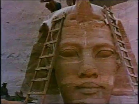 Abou Simbel sauvé du Nil
