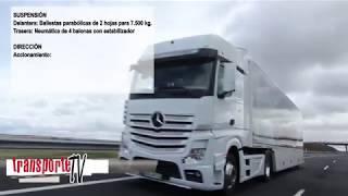 Prueba camión Mercedes Actros 1848 LS 4x2