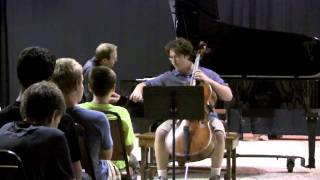 Jonah Shifrin and Andrei Baumann Rachmaninoff Cello Sonata Largo