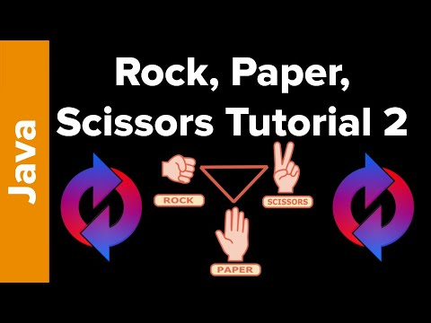 Java Game Tutorial: Rock, Paper, Scissors Part 2 (with Loops)