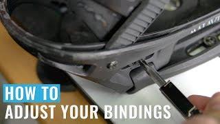 How To Adjust Y๐ur Bindings