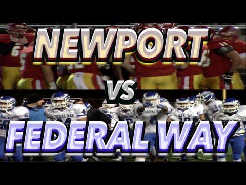 Federal Way (WA) vs Newport (WA) WIAA Playoffs 2014 : UTR Highlight Mix