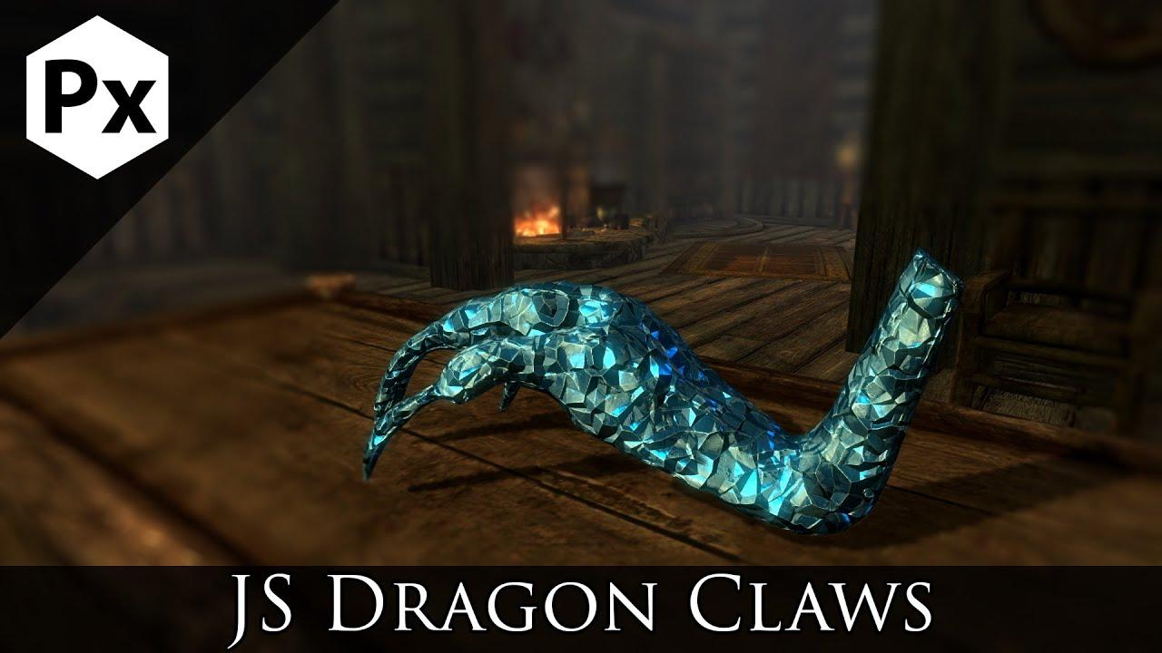 js dragon claws