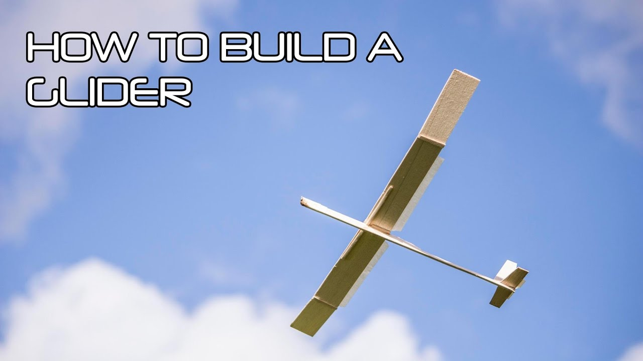 how to make a balsa wood glider youtube