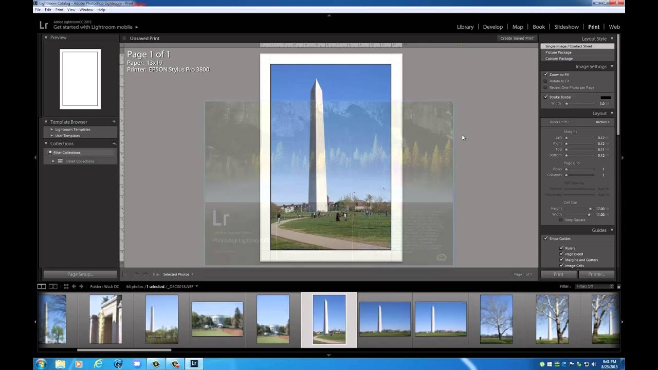 How to Size your Images for Printing