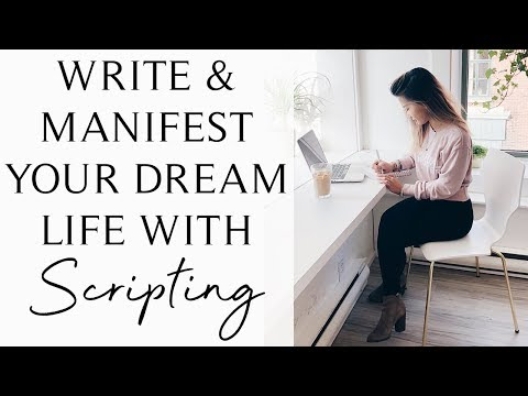 POWERFUL LAW OF ATTRACTION TECHNIQUE: SCRIPTING FOR MANIFESTATION