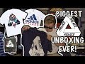 BIGGEST PALACE UNBOXING OF SUMMER 2018 PALACE X ADIDAS PALACE TRI FERG 850 FUNNY mp3