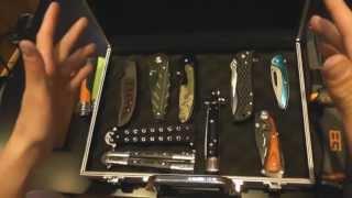 Présentation de mes couteaux