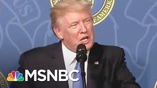 Donald Trump: I Wouldn't Have Hired Sessions If I Knew He'd Recuse | All In | MSNBC