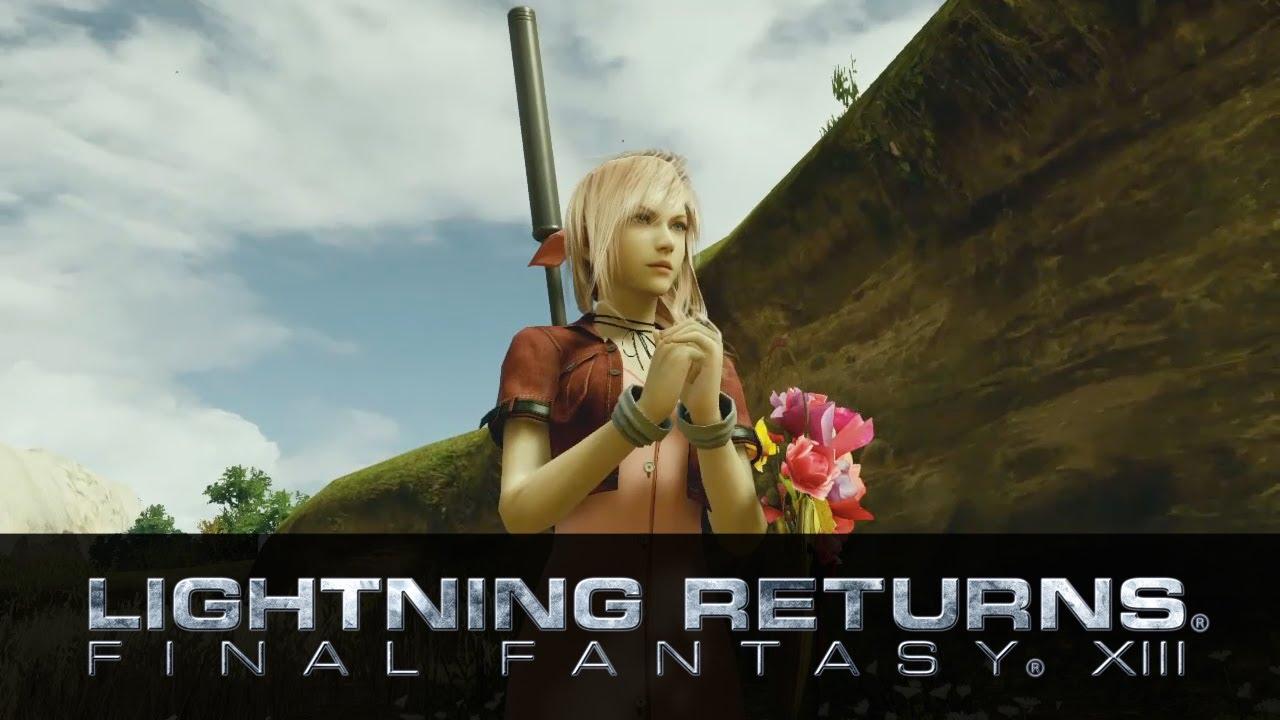ffvii aerith lightning returns final fantasy xiii youtube