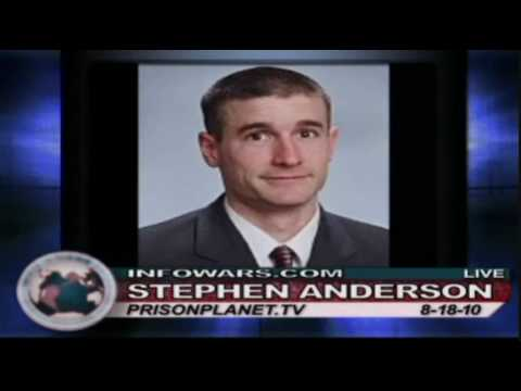 Alex Jones - Pastor Stephen Anderson - Suing for wrongful arrest - part 1/2