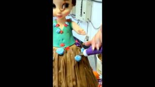 How To Make Hawaiian Barbie Cake
