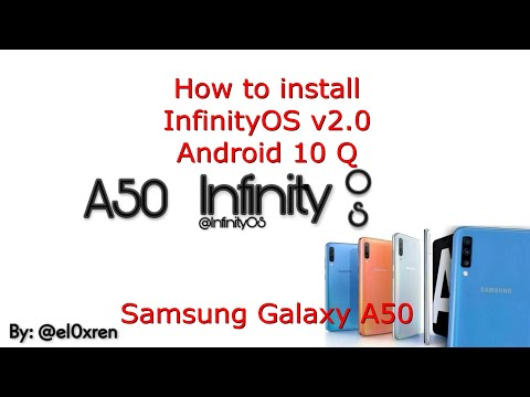 Samsung Galaxy A50: InfinityOS v2.0 OneUI 2.5 Android 10 Q