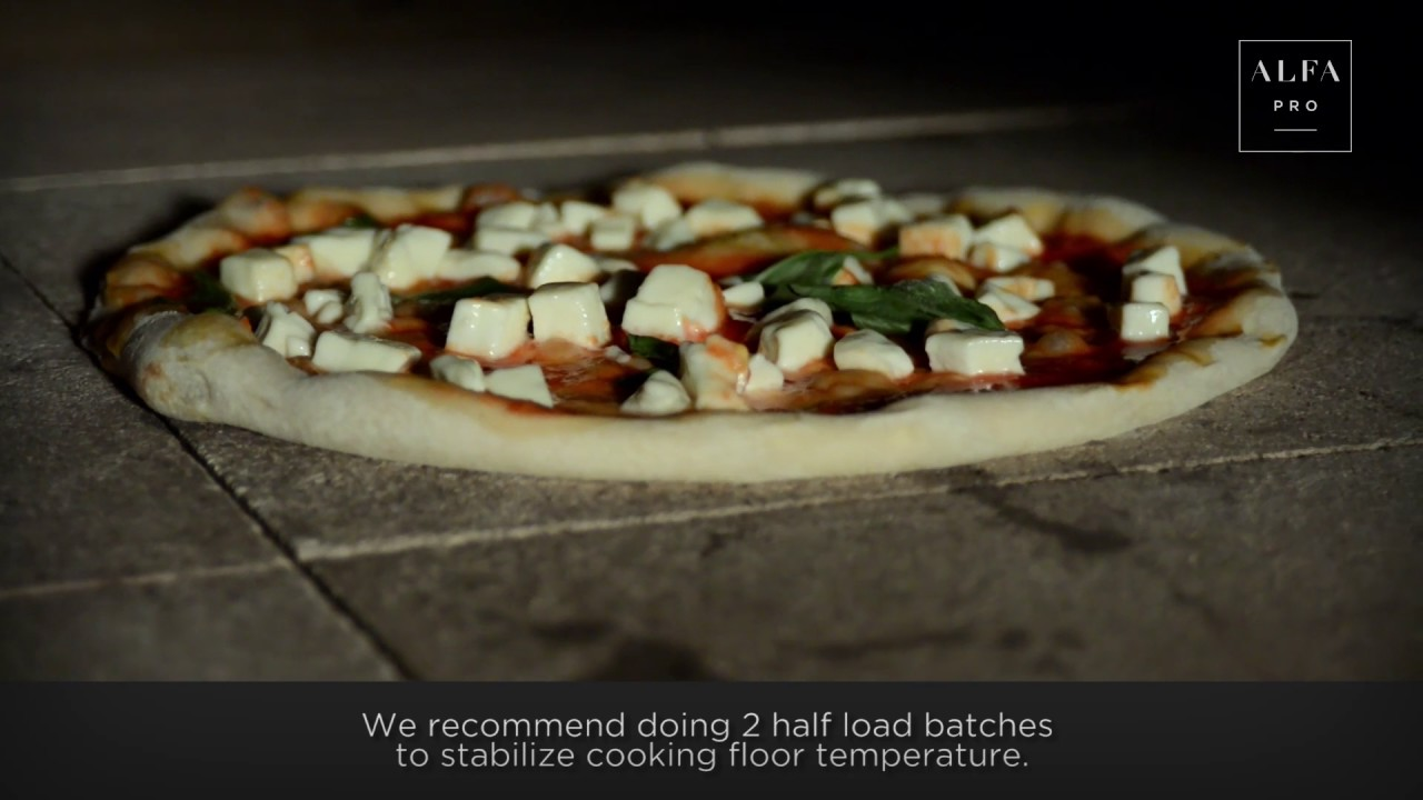 How to make pizza at home in gas oven