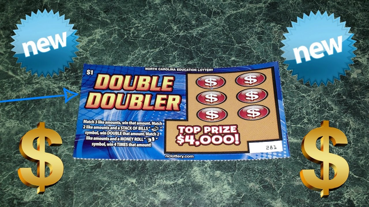 New $4,000 Double Doubler NC Lottery - YouTube