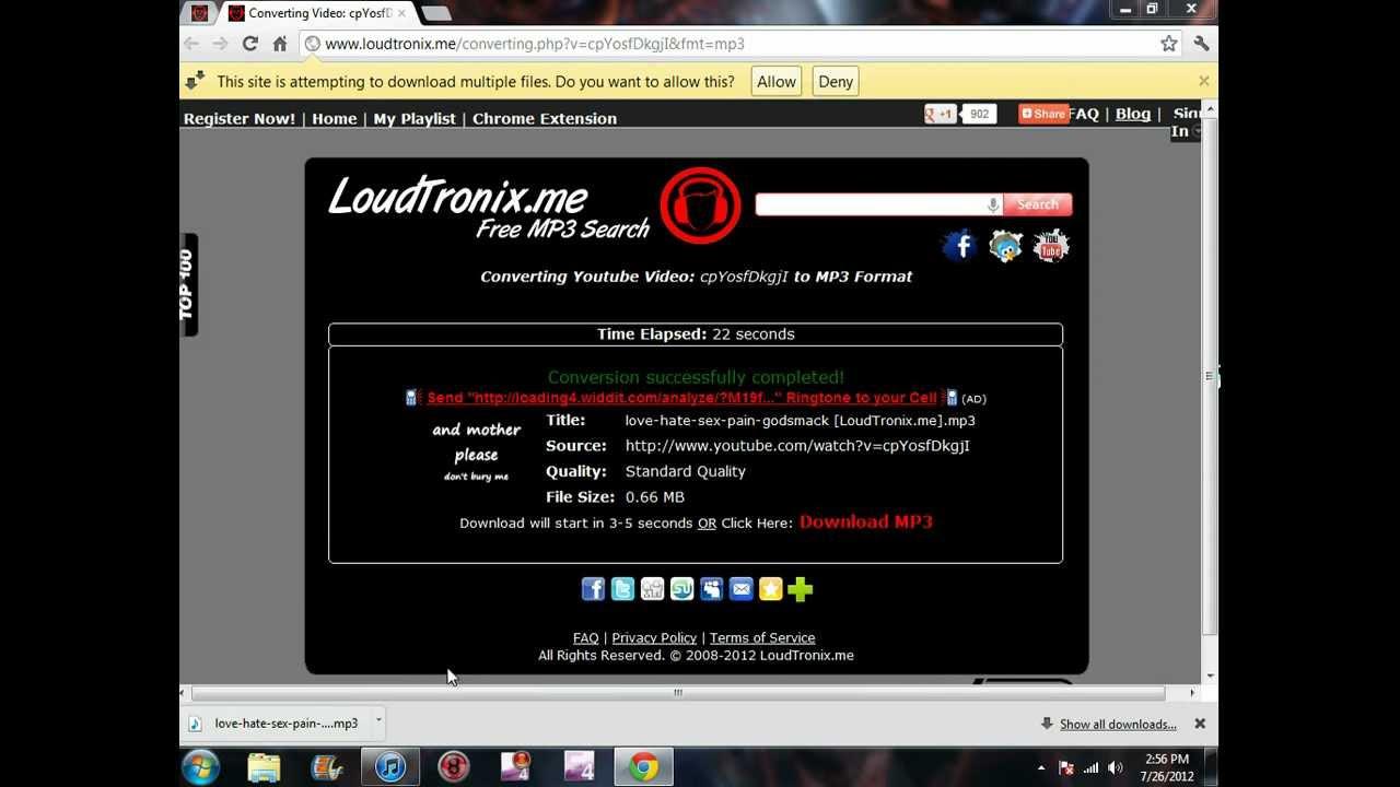 Best LoudTronix Free MP3 Downloader | Get LoudTronix Mp3 - FoneFAQ