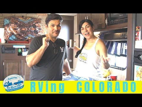 Good Luck Finding Campgrounds In Denver Colorado!! Fulltime RVing In Colorado