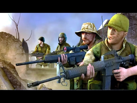 Army Commando Shooting Strike Android Gameplay