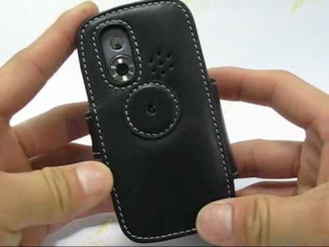 PDair Leather Case for HTC S730/HTC Wings 100 - Book Type