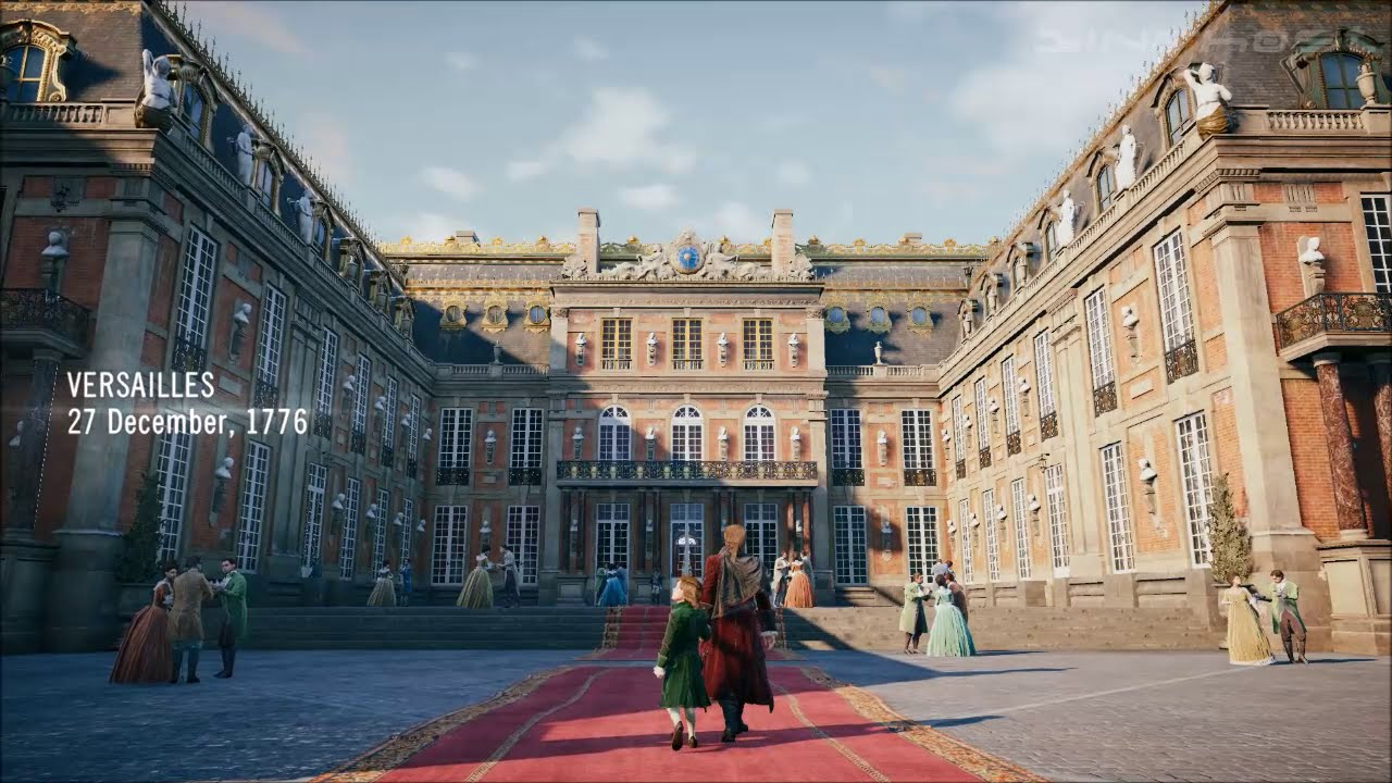 assassin 39 s creed unity part 1 memories of versailles youtube. Black Bedroom Furniture Sets. Home Design Ideas