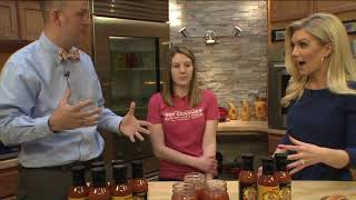 FOX 2 9AM HOT SAUCE DAY HOT CHARLIE'S HOT SAUCE