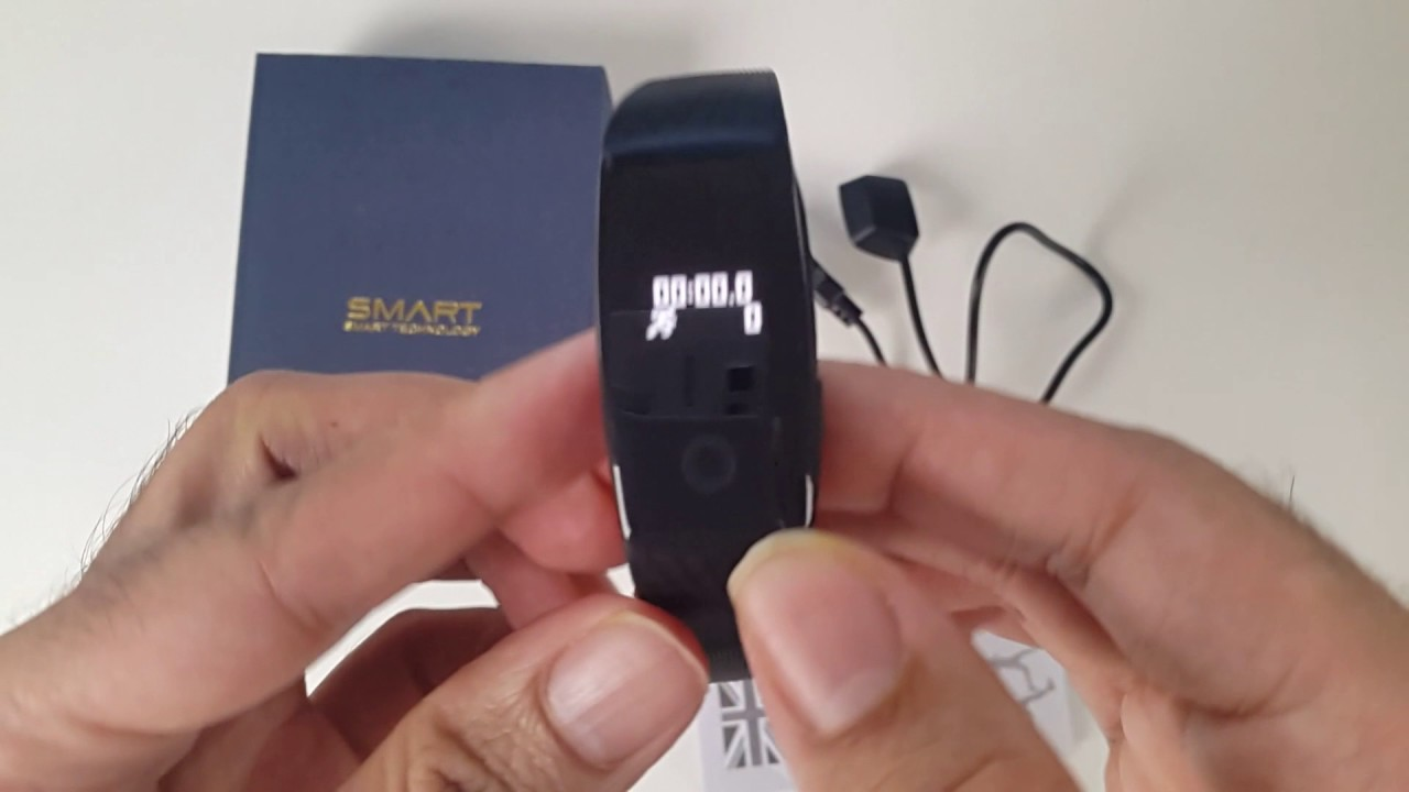 Itek affordable fitness tracker review youtube.