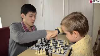 Китай. Шахматная тренировка Гордея Колесова.