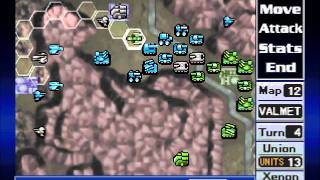 Nectaris Military Madness (Playstation) Level 12- VALMET