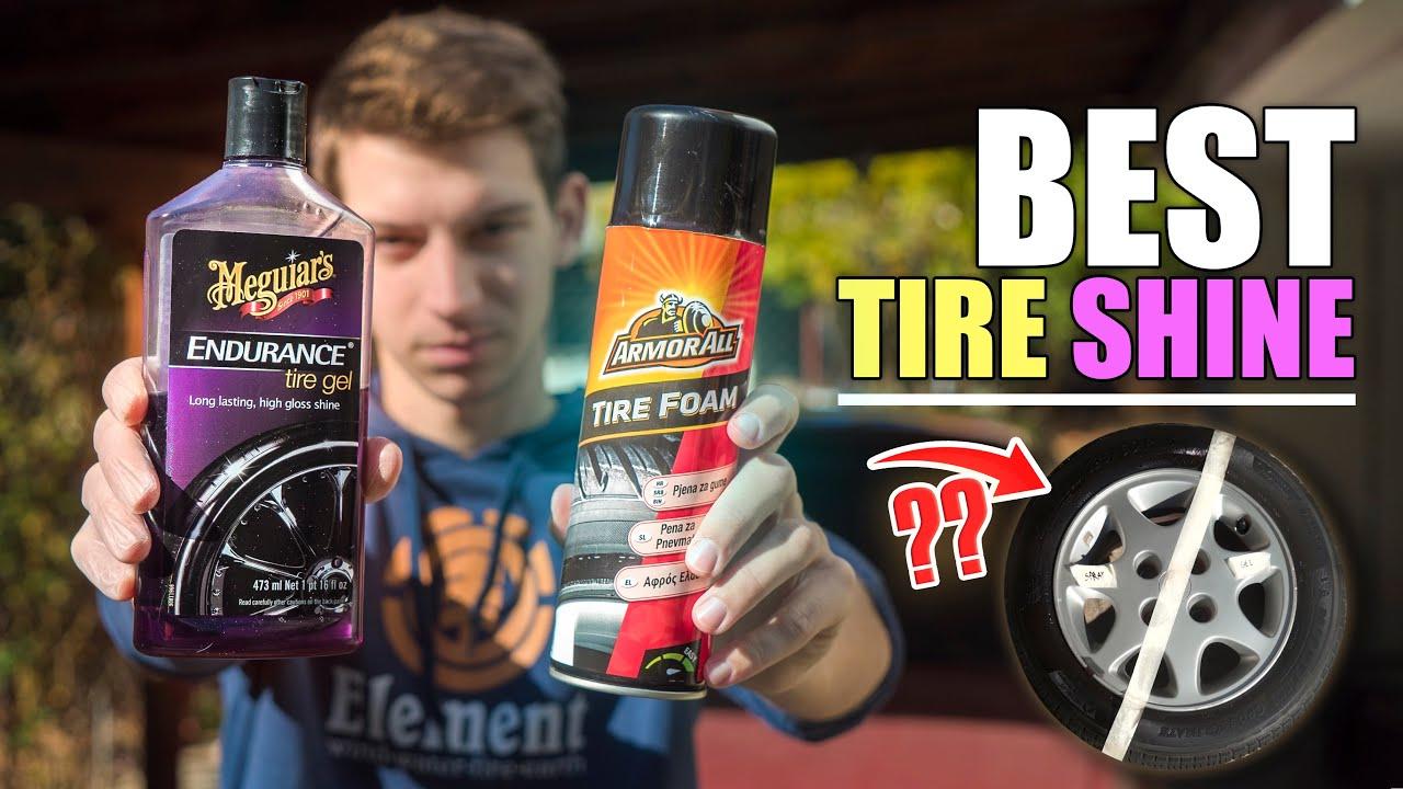 Περιποίηση αυτοκινήτου / Gel vs Spray για μαύρα λάστιχα